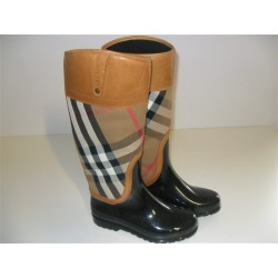 BURBERRY STIVALI DA PIOGGIA N 36 RAINBOOT SCARPE DONNA SHOES ANTIPIOGGIA