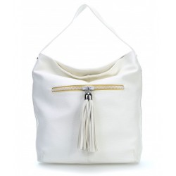 BORSA LIU JO 2016 SHOPPING HOBO EUBEA MONOSPALLA BIANCO BAG N16069