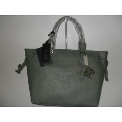 BORSA LIU JO AMY SHOPPING BAG A SPALLA COL. OIL GREEN
