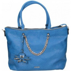 BORSA LIU JO AMY SHOPPING BAG A SPALLA COL. GLACE