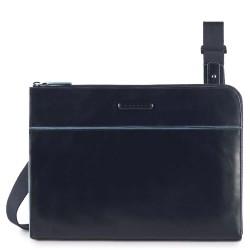 PIQUADRO Busta porta iPad®Air/Pro 9,7 con tracolla rimovibile Blue Square AC3775B2/BLU2