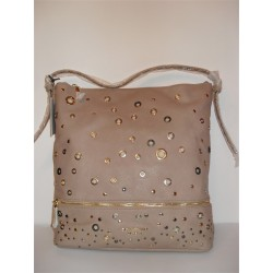 BORSA SHOPPING ERMANNO SCERVINO STREET BEIGE ORIGINALE BAG